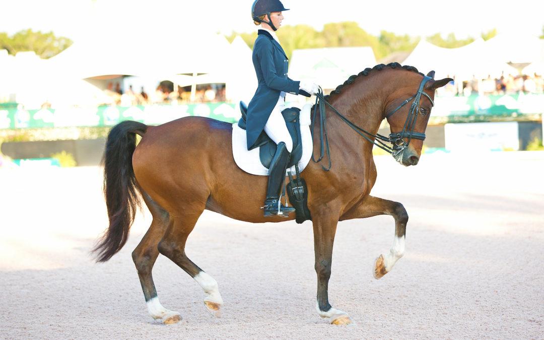 Världstvåan i dressyr, Laura Graves, kommer till LGCT Stockholm & Stockholm Horse Week