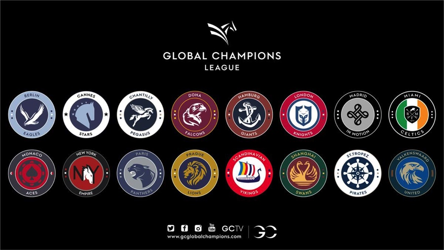 Fyra svenskar finns representerade i Global Champions League 2019