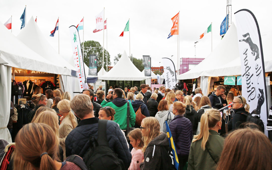 Hästsportmässan EuroHorse till Longines Global Champions Tour Stockholm & Stockholm Horse Week