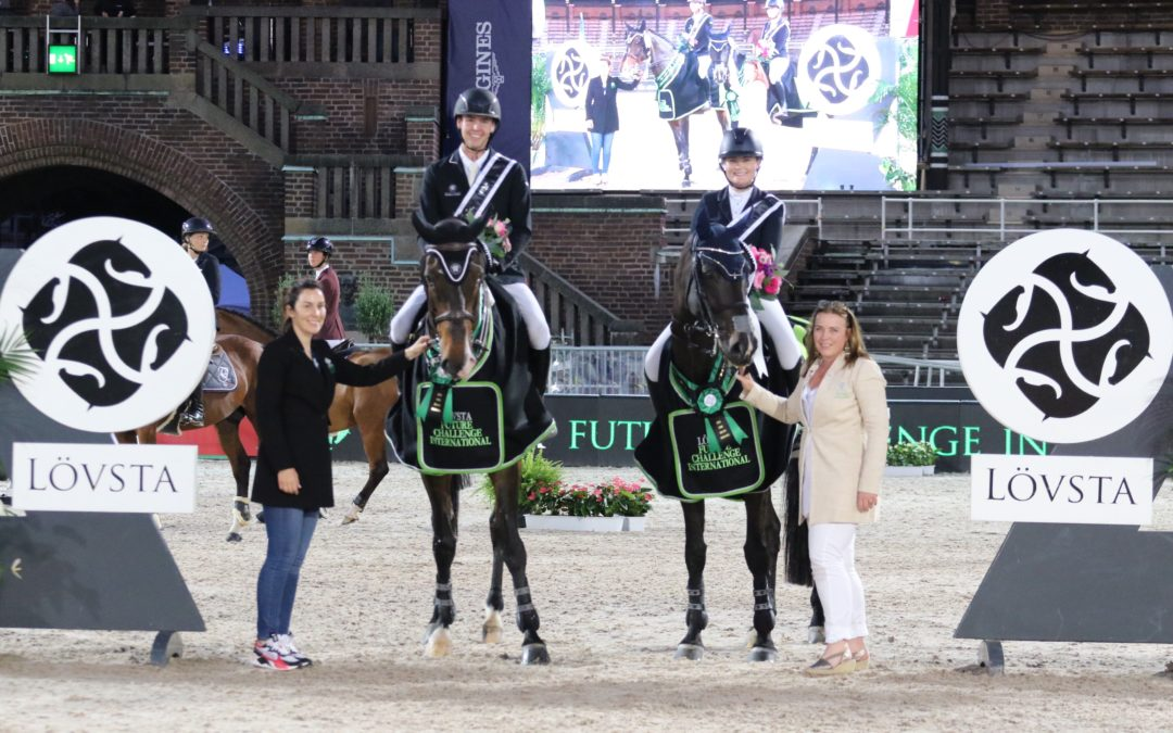 Victory for the Irish team in the Lövsta Future Challenge International team competition!